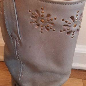 Frye Shoes - Frye embellished harness boots